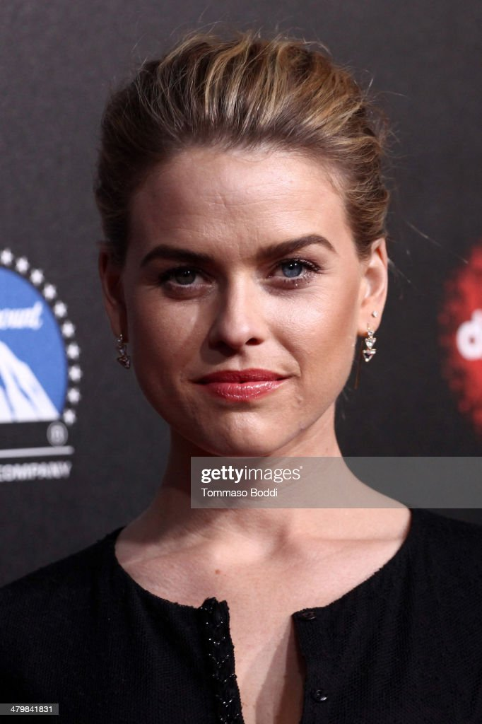 Actress Alice Eve attends the 2nd annual Rebel With a Cause Gala held at the Paramount Studios on March 20, 2014 in Hollywood, California.