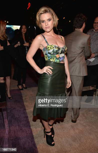 Actress Alice Eve attends the after party for the premiere of Paramount Pictures' Star Trek Into Darkness at AV Nightclub on May 14 2013 in Hollywood...
