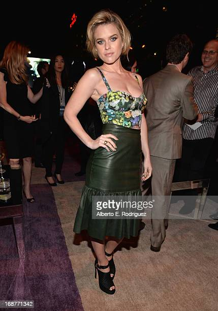 Actress Alice Eve attends the after party for the premiere of Paramount Pictures' 'Star Trek Into Darkness' at AV Nightclub on May 14 2013 in...
