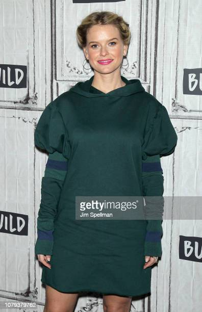 Actress Alice Eve attends the Build Series to discuss Replicas at Build Studio on January 8 2019 in New York City