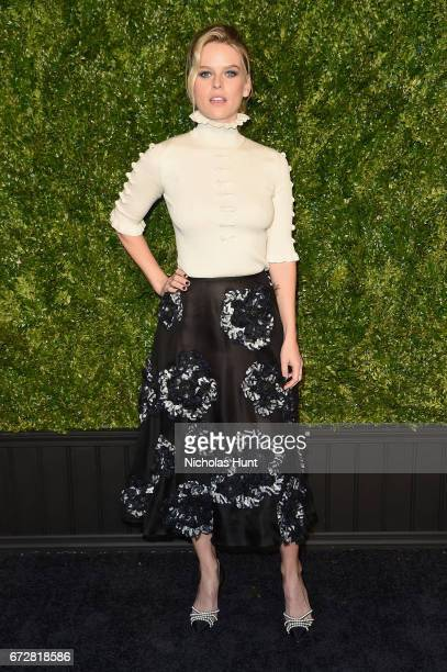 Actress Alice Eve attends the CHANEL Tribeca Film Festival Artists Dinner at Balthazar on April 24 2017 in New York City