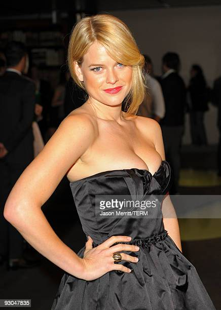Actress Alice Eve attends the Prada book launch cocktail held at Prada Rodeo Drive on November 13 2009 in Beverly Hills California