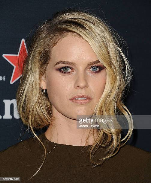 Actress Alice Eve attends the premiere of Before We Go at ArcLight Cinemas on September 2 2015 in Hollywood California