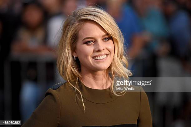 Actress Alice Eve attends the premiere of Radius and G4 Productions' Before We Go at ArcLight Cinemas on September 2 2015 in Hollywood California