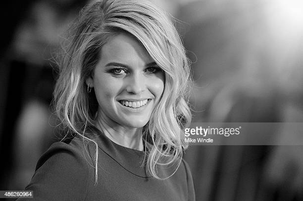 Actress Alice Eve attends the premiere of Radius and G4 Productions' 'Before We Go' at ArcLight Cinemas on September 2 2015 in Hollywood California
