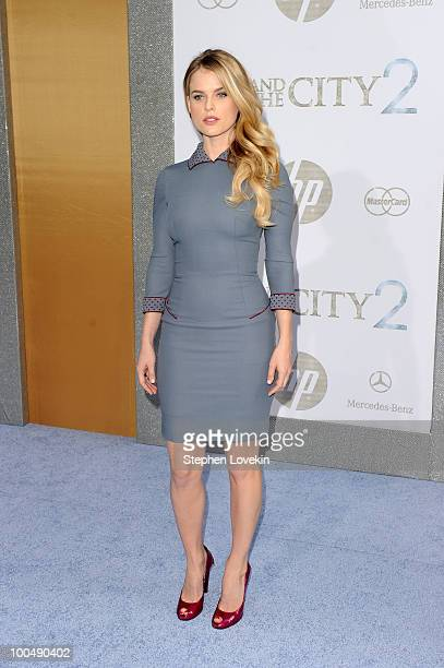 Actress Alice Eve attends the premiere of Sex and the City 2 at Radio City Music Hall on May 24 2010 in New York City