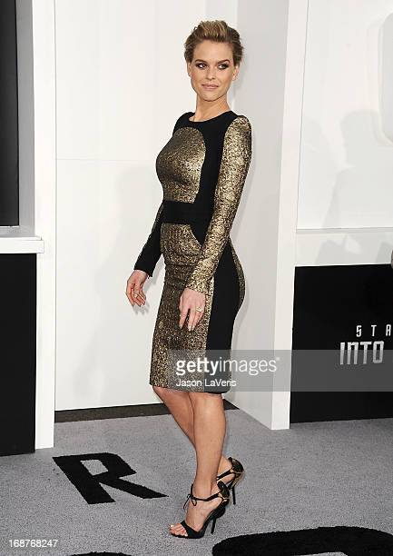 Actress Alice Eve attends the premiere of Star Trek Into Darkness at Dolby Theatre on May 14 2013 in Hollywood California