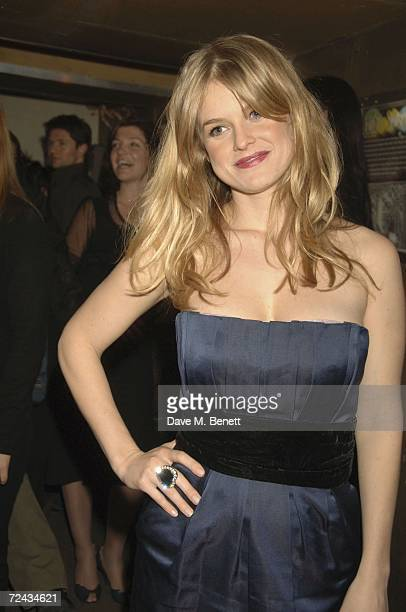 Actress Alice Eve attends the Starter For 10 Permiere After Party at the Notting Hill Arts Club on November 6, 2006 in London, England.