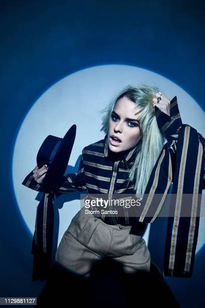 Actress Alice Eve is photographed for Rogue Magazine on October 4 2018 in Los Angeles California PUBLISHED IMAGE