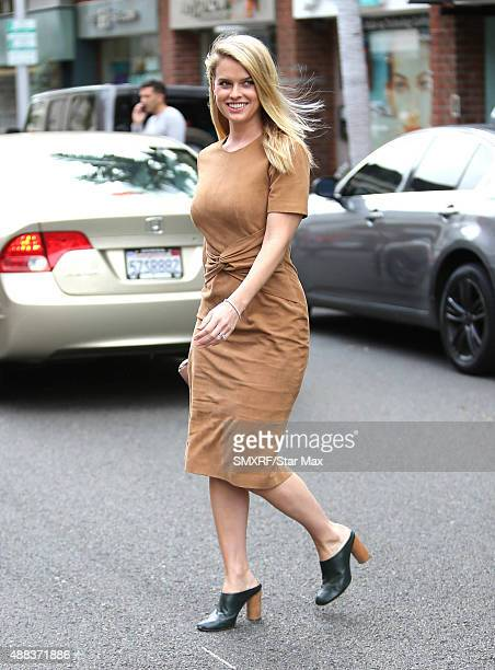 Actress Alice Eve is seen on September 15 2015 in Los Angeles California