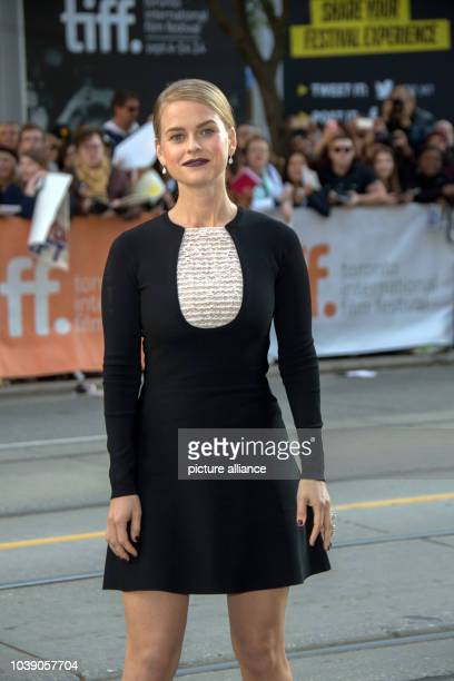 """Actress Alice Eve poses at the premiere of """"Before We Go"""" during the 39th Toronto International Film Festival in Toronto, Canada, 12 September 2014...."""
