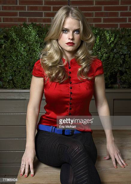 Actress Alice Eve poses for a portrait session for Paper Magazine in New York City