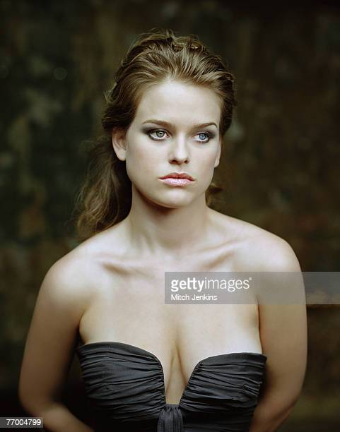 Actress Alice Eve poses for a portrait shoot in London, on the 4th February 2007.