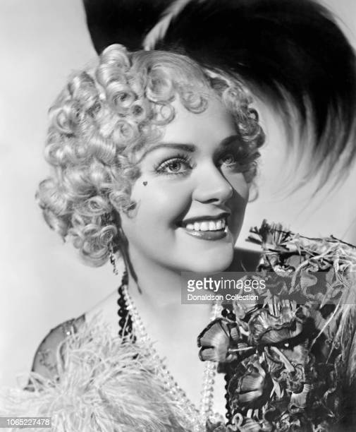 Actress Alice Faye in a scene from the movie Alexander's Ragtime Band