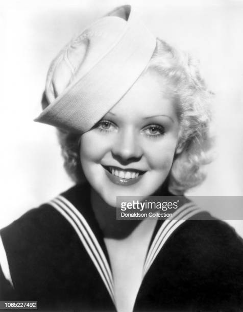 Actress Alice Faye in a scene from the movie She Learned About Sailors