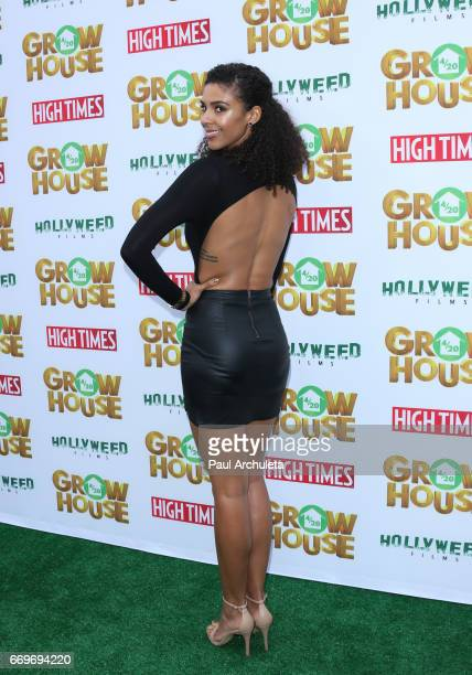 Actress Alice Hunter attends the premiere of 'Grow House' at The Regency Bruin Theatre on April 17 2017 in Los Angeles California