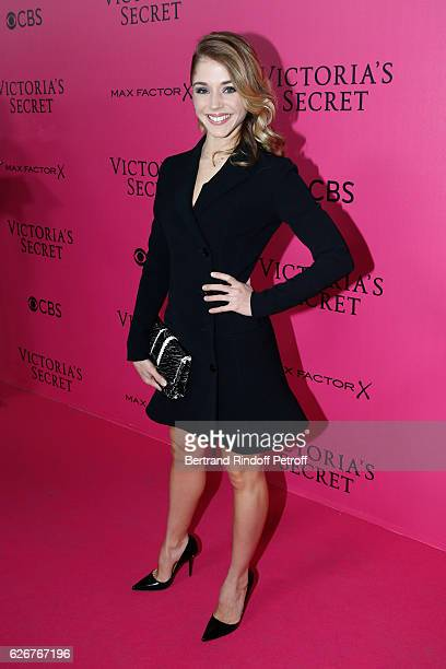 Actress Alice Isaaz attends the 2016 Victoria's Secret Fashion Show Held at Grand Palais on November 30 2016 in Paris France