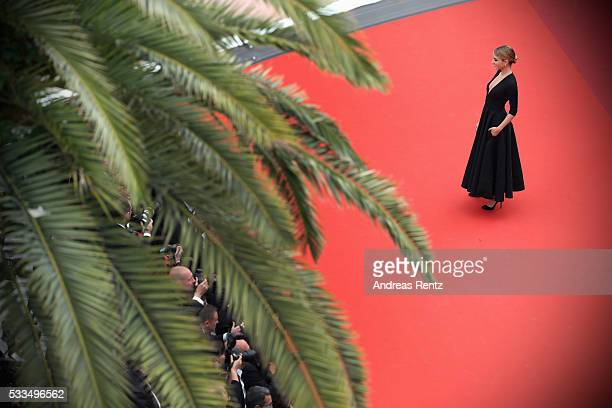 Actress Alice Isaaz attends the closing ceremony of the 69th annual Cannes Film Festival at the Palais des Festivals on May 22 2016 in Cannes France