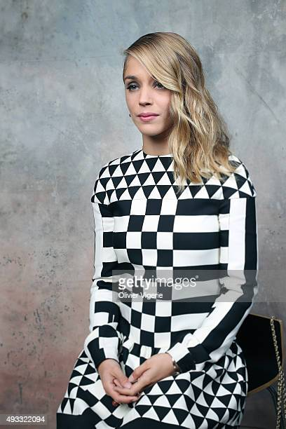 Actress Alice Isaaz is photographed on September 10 2015 in Deauville France