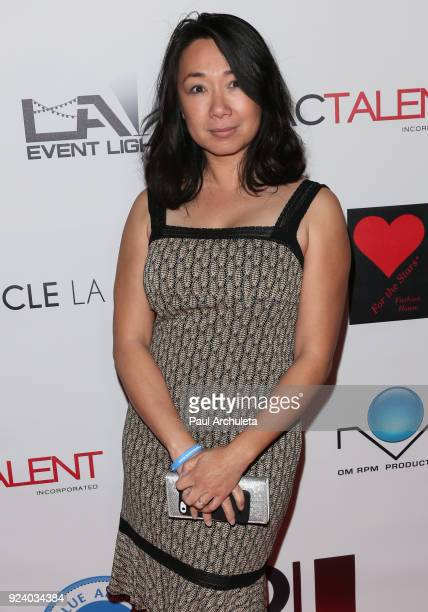 Actress Alice Kwong attends the Gifting Your Spectrum gala benefiting Autism Speaks on February 24 2018 in Hollywood California