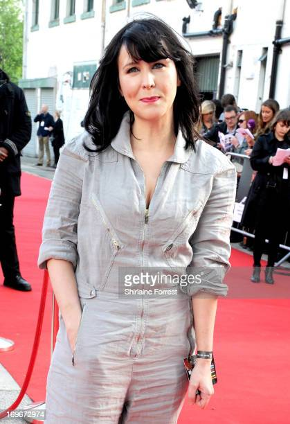 Actress Alice Lowe attends the UK film premiere of The Stone Roses Made Of Stone at Victoria Warehouse on May 30 2013 in Manchester England