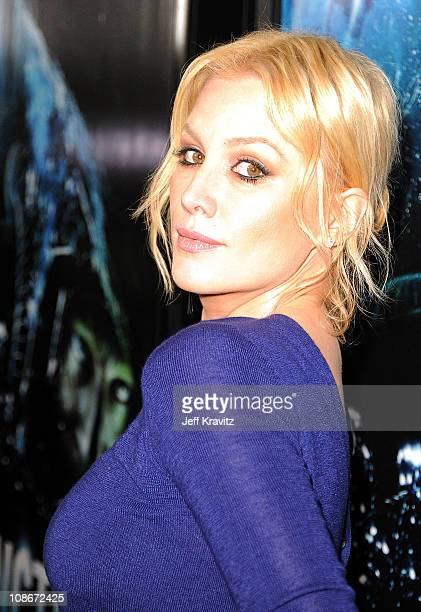 Actress Alice Parkinson attends the Los Angeles premiere of 'Sanctum' at Grauman's Chinese Theatre on January 31 2011 in Hollywood California