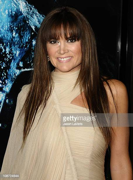 Actress Alice Parkinson attends the premiere of 'Sanctum' at Grauman's Chinese Theatre on January 31 2011 in Hollywood California