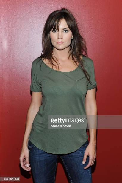 Actress Alice Parkinson poses during a private photo session at p3r publicity offices on January 27 2011 in Beverly Hills California