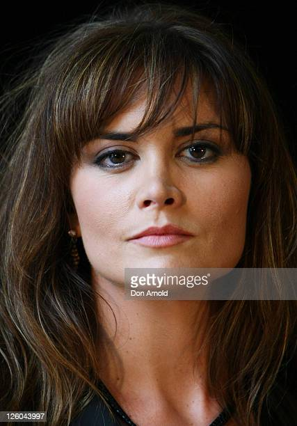 Actress Alice Parkinson poses during a promotion of Sanctum at The Entertainment Quarter on January 12 2011 in Sydney Australia