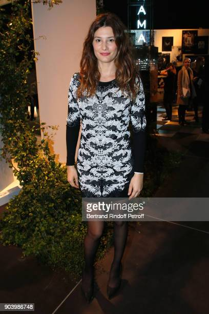 Actress Alice Pol attends the Vendorama Exhibition as Boucheron Celebrates its 160th Anniversary at Monnaie de Paris on January 11 2018 in Paris...