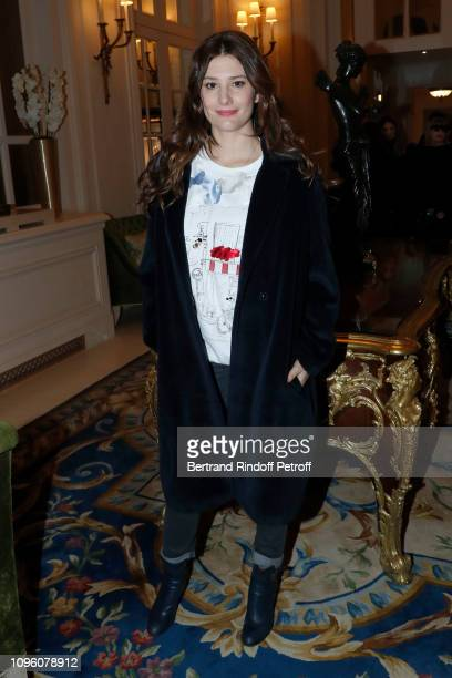 Actress Alice Pol attends the Weill Menswear Fall/Winter 20192020 show as part of Paris Fashion Week on January 18 2019 in Paris France