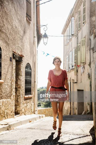 Actress Alice Pol is photographed for Gala Magazine on July 2018 in Marseille France