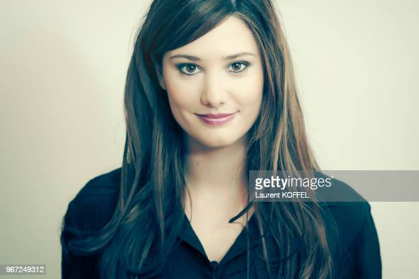 Actress Alice Pol is photographed for Self Assignment on February 19 2010 in Paris France