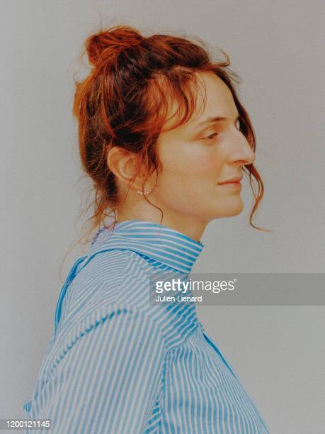 Actress Alice Rohrwacher poses for a portrait on May 2018 in Cannes France