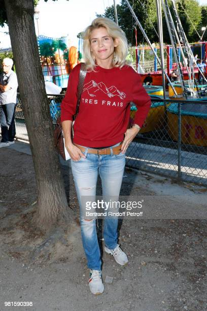 Actress Alice Taglioni attends the Fete Des Tuileries on June 22 2018 in Paris France