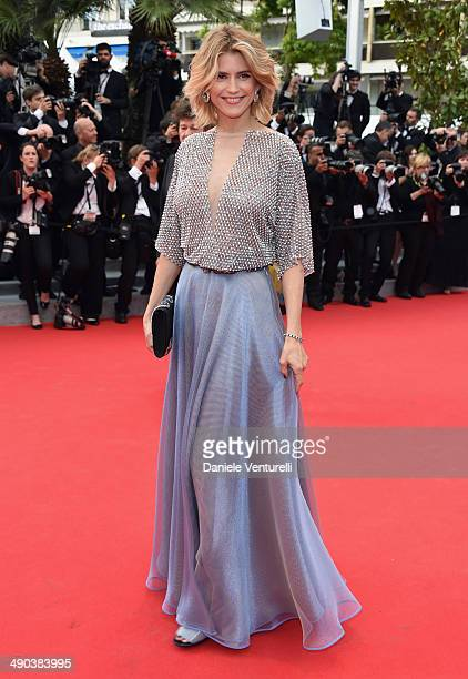 Actress Alice Taglioni attends the Opening Ceremony and the 'Grace of Monaco' premiere during the 67th Annual Cannes Film Festival on May 14 2014 in...