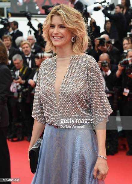 Actress Alice Taglioni attends the Opening Ceremony and the Grace of Monaco premiere during the 67th Annual Cannes Film Festival on May 14 2014 in...