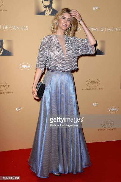 Actress Alice Taglioni attends the Opening Ceremony dinner during the 67th Annual Cannes Film Festival on May 14 2014 in Cannes France