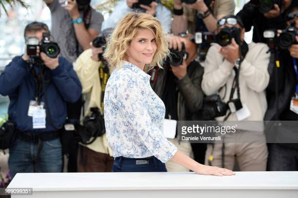 Actress Alice Taglioni attends the photocall for 'Jeunes Talents Adami' during the 66th Annual Cannes Film Festival at the Palais des Festivals on...