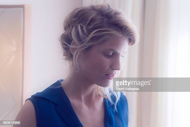 Actress Alice Taglioni is photographed for Self Assignment on May 13 2015 in Cannes France