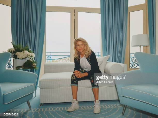 Actress Alice Taglioni is photographed for Self Assignment on May 2018 in Cannes France