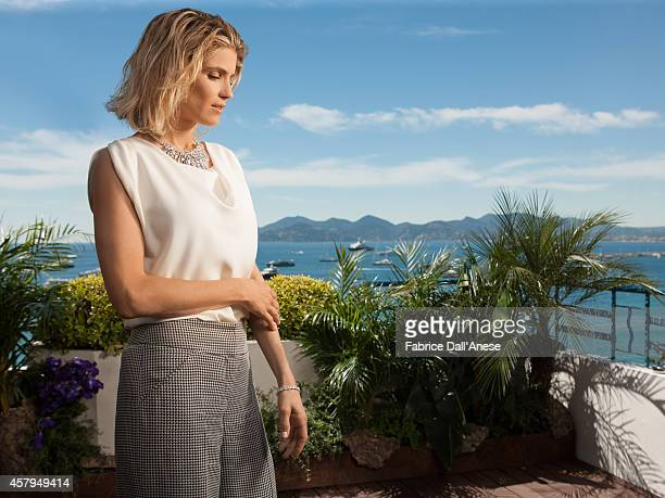 Actress Alice Taglioni is photographed for Vanity Fair Italy on May 15 2014 in Cannes France