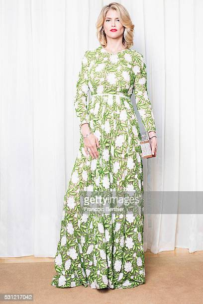 Actress Alice Taglioni is photographed on May 11 2016 in Cannes France
