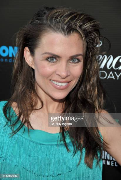 Actress Alicia Arden arrives at the 2009 French Open Celebration at Beso on May 26 2009 in Hollywood California