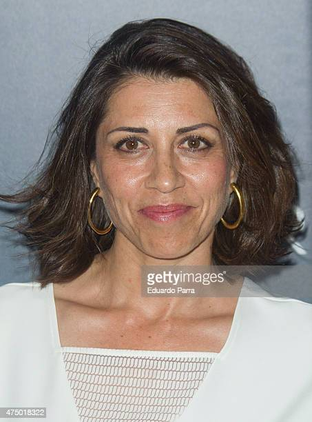 Actress Alicia Borrachero attends 'Matar el tiempo' premiere at Capitol cinema on May 28 2015 in Madrid Spain