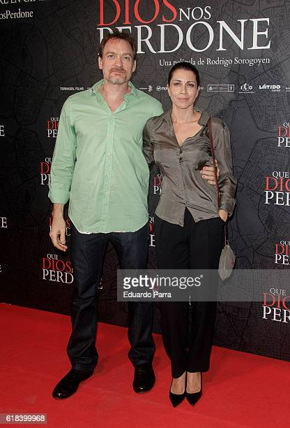 Actress Alicia Borrachero attends the 'Que Dios nos perdone' photocall at Capitol cinema on October 26 2016 in Madrid Spain