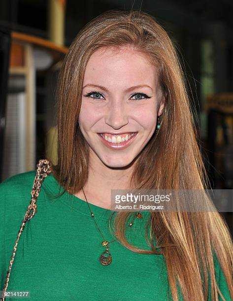 Actress Alicia Brower arrives at the Los Angeles premiere of Anchor Bay Entertainment's 'Stan Helsing' on October 20 2009 in Los Angeles California