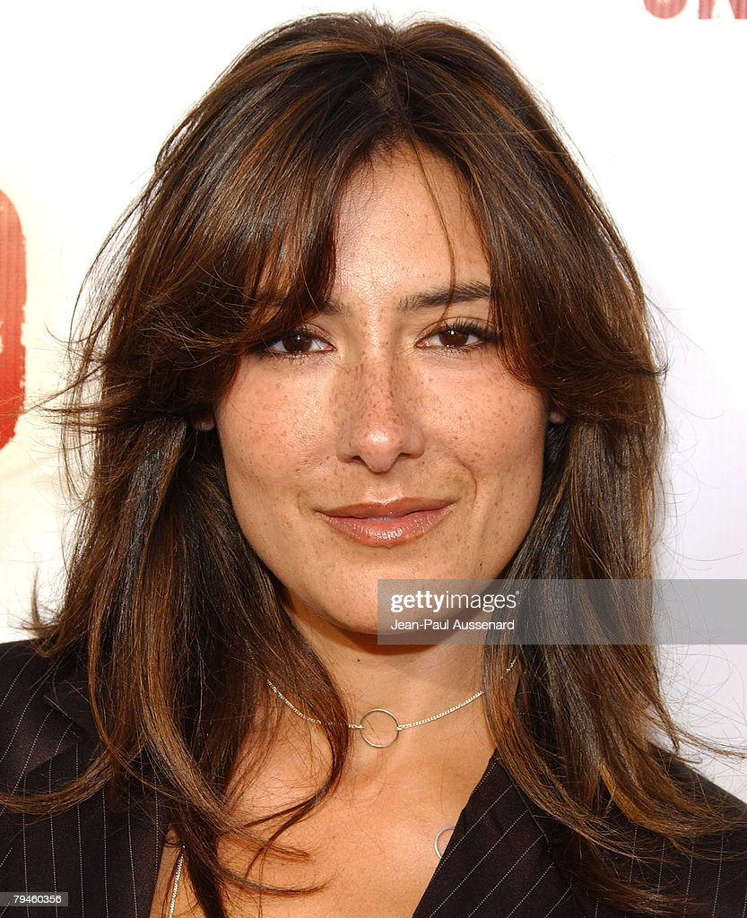Actress Alicia Coppola arrives at the Jericho first season DVD launch party held at Crimson on October 2nd, 2007 in Hollywood, California.
