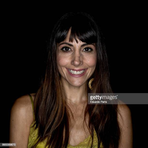 Actress Alicia Fernandez attends Garcia Madrid show at Mercedes Benz Fashion Week Madrid Spring/ Summer 2019on July 10 2018 in Madrid Spain