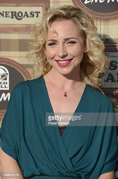 Actress Alicia Goranson arrives at the Comedy Central Roast of Roseanne Barr at Hollywood Palladium on August 4 2012 in Hollywood California